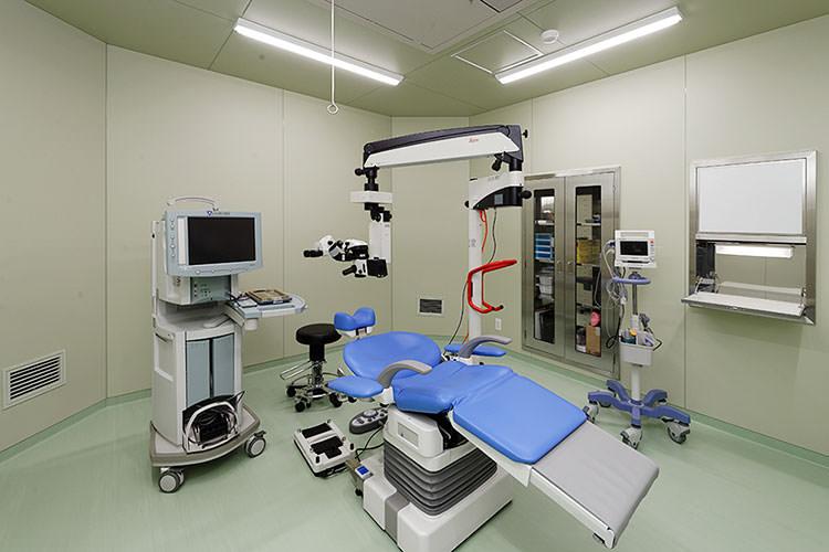 眼科基準以上の清浄度クラスを実現したクリーンルーム