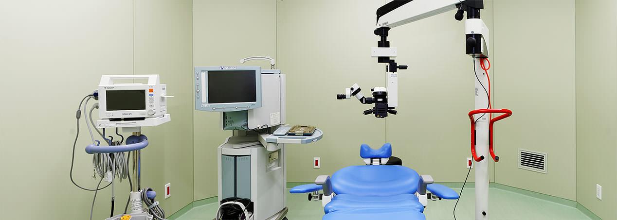 手術室はクリーンルーム
